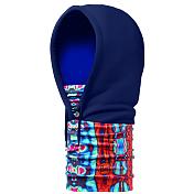 КапюшонАксессуары Buff ®<br>Теплый и функциональный головной убор Buff Hoodie выполнен в виде капюшона. Основная часть зимнего капюшона состоит из Polartec, шейный отдел из двойного слоя microfibra, что позволяет вам использовать его в качестве шарфа-капюшона или капюшона-маски и закрывать как шею, так и лицо.