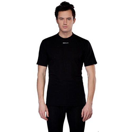 Футболка ACCAPI TECNOSOFT PLUS SHORT SL. T-SHIRT MAN (black) черный