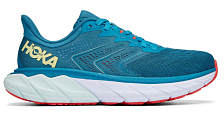Беговые кроссовки Hoka W Arahi 5 Mosaic Blue/Luminary Green