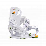 Сноуборд крепленияСноуборд крепления<br>Модель IPO является универсальной моделью креплений средней жесткости, которую можно использовать в любом стиле катания – парковый фристайл, джиббинг, катание по подготовленным склонам, фрирайд. Под лозунгом Rethink Your Ride («переосмысли свое катание»), команда NOW предлагает испытать инновационную систему Skate-Tech, которая представляет собой подвижную базу креплений относительно доски с единственным контактом по краям креплений в виде бушингов. Как результат Вы получаете лучший отклик, повышенную стабильность, больший контроль. К тому же данная система позволяет подключить стопы к работе плеч и коленей при выполнении трюков или закладывании резких поворотов. Малейший импульс стопами со стороны райдера – мгновенная трансформация поступающей энергии в отклик. Говоря о фиксации ноги&amp;nbsp; - с этой задачей отлично справляются новые верхние стрепы SIEVA, выполненные из EVA материала, и обновленные прочные бакли 2.0 с нижней 3D стрепой. Крепления IPO содержат в комплектации два вида диска для закладных 4х4 и EST.<br> <br> <br> Особенности:<br><br><br>Назначение: All-mountain/Freestyle <br>Нейлоновая база, усиленная на 30% стекловолокном <br>Диски и кольца выполнены из 50% GF нейлона и подходят под все типы закладных (в том числе 4х4 или EST) <br>Технология Skate-Tech: подвижная база работает как подвеска скейта и позволяет перенести усилие по закантовке до уровня работы стопой, увеличивает отклик, минимизирует усталость ног <br>Бушинги: средние (45 shore) <br>Платформа, подвижно закрепленная относительно доски, позволяет значительно увеличить свойства гашения вибрации <br>Новые стрепы SIEVA– износостойкие, прочные и легкие стрепы, выполнены из EVA материала, отлично фиксируют ногу <br>Нижняя 3D стрепа компактного размера, отлично подойдет под все типы ботинок <br>Новые бакли 2.0 <br>Технология&amp;nbsp;Flushcup предотвращает люфт пятки <br>Технология Highcup обеспечивает дополнительную стабильность, не принося при этом в же
