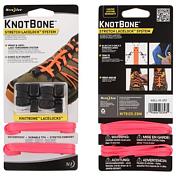 ШнуркиСтельки, шнурки<br><br> Прочные, эластичные шнурки, подходят для любой обуви&amp;nbsp;<br> <br> - В комплект входит два 137-сантиметровых шнурка, 2 карабина KnotBone и 2 наконечника для шнурков.<br> - Позволяют обуви динамично адаптироваться к движениям ноги.<br> - Обеспечивают прочный узел шнуровки.<br> - Устойчивы к ультрафиолетовому излучению.<br> - Обладают водоотталкивающими свойствами.<br> - Отлично подходят для спортсменов, детей, пожилых людей и.т.д.<br> - Подходят практически к любой обуви.<br> - Карабин KnotBone LaceLocks обеспечивает быструю затяжку шнурков безо всяких узлов.<br>