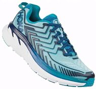 Беговые кроссовки Hoka 2019 W Clifton 4 Blue Topaz/Imperial Blue
