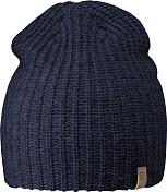 ШапкаГоловные уборы<br>Тонкая двухслойная шапка с высокой посадкой из акрила. Маленький кожаный логотип с боку.