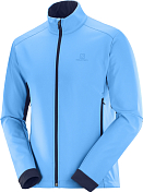 Куртка беговая SALOMON 2020-21 Agile softshell m Blithe/Night Sky