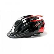 Летний шлемШлемы велосипедные<br>Шлем, получивший множество наград. Легкий, с оптимальной вентиляцией и превосходной посадкой. Технологии: Run System Ergo&amp;#43;, Ceramic Shell, Shield Protect <br>Вес: 230 g <br>Кол-во вентиляционных отверстий: 26<br><br>Технологии:<br>IN-MOLD TEC - Внешнее твердое покрытие шлема из поликарбоната сплавляется с подкладкой из EPS &amp;#40;вспененный полистирол&amp;#41; под большим давлением и высокой температурой. Как результат, литой, суперпрочный и лёгкий по весу шлем. Шлемы с технологией IN-MOLD обеспечивают гораздо большую защиту от ударов, в том числе от ударов об острые предметы.<br><br>CERAMIC - Покрытие Ceramic Shell. Внешнее покрытие шлема, которое обеспечивает стойкость к царапинам и сколам, не выгорает и обладает антистатическими свойствами.<br><br>SHIELD PROTECT – съемный козырёк, обеспечивает защиту от брызг, веток и солнца.<br><br>RUN SYSTEM ERGO &amp;#43; - по технологии повторяет своего старшего «брата», RUN SYSTEM ERGO PRO, единственное отличие в том, что «подголовники» и колесо регулировки выполнены из пластика.