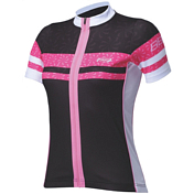 ������ BBB Force jersey s.s. black magenta (BBW-248)