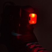 Фонарик на шнурки Powerslide 2020 LED Clip Red