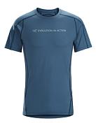 Футболка для активного отдыхаОдежда для активного отдыха<br>Футболка для походов и активного отдыха<br> <br> - выводит влагу наружу<br> - уф защита 30+<br> - эргономичный крой<br> - плоские швы<br> - ткань Phasic™ FL-X with DAO™ - 100% polyester<br>