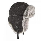 ШапкаГоловные уборы<br>Шапка-ушанка&amp;nbsp;<br> <br> -надежная защита от ветра и холода<br> -внешний материал - шерсть<br> -подкладка из меха<br> -застежка на кнопки<br> -размер 56-60