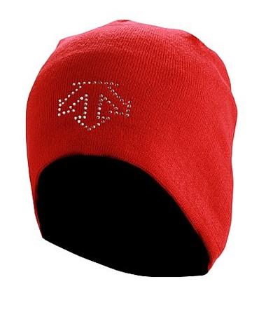 Купить Шапка DESCENTE 2012-13 KNIT CAP Electric red красный, Головные уборы, шарфы, 824127