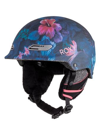 Купить Зимний Шлем ROXY 2016-17 POWER POWDER J HLMT MLR6 HAWAIIAN TROPIK_PARADISE PINK Шлемы для горных лыж/сноубордов 1309383