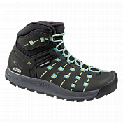 Ботинки для треккинга (высокие) Salewa Alpine Life WS CAPSICO MID INSULATED Black/Dragonfly