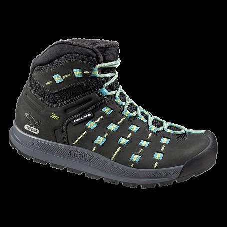 Купить Ботинки для треккинга (высокие) Salewa Alpine Life WS CAPSICO MID INSULATED Black/Dragonfly Обувь города 1090447