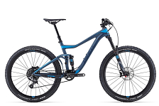 Велосипед Giant Trance Advanced 27.5 0 2016 Grayish Green / Серовато -Зеленый