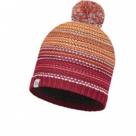 Купить Шапка BUFF KNITTED & POLAR HAT NEPER RED SAMBA-SAMBA-Standard/OD Банданы и шарфы Buff ® 1343649