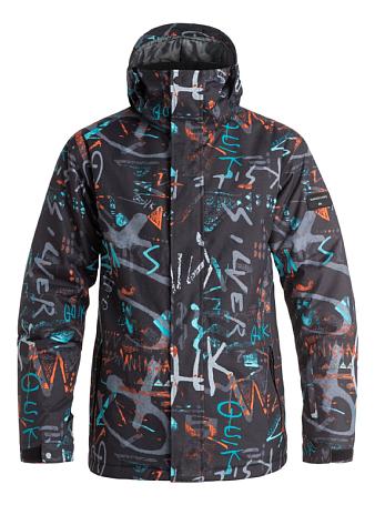 Купить Куртка сноубордическая Quiksilver 2016-17 Mission Print J M SNJT BGZ7, Одежда сноубордическая, 1279574