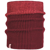 Шарф Buff JR KNITTED & POLAR NECKWARMER AUDNY WINE
