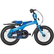 БеговелДо 6 лет (колеса 12-18)<br>Велосипед Scool Rennrad 14 &amp;#40;2016&amp;#41; – беговел для детей от 2-х лет ростом не ниже 90 см. Эта модель поможет малышу увереннее держаться на ногах, подготовит к полноценному катанию на велосипеде, укрепит мышечный аппарат и разовьет реакцию и координацию. Рама выполнена из прочного алюминия, седло имеет специальную анатомическую конструкцию, благодаря которой ребенок не устанет даже после нескольких часов езды. Торможение происходит за счет остановки ногами. Широкие шины обеспечат хорошую устойчивость и проходимость беговела на дороге.<br><br>руль: Junior Uprise, ширина 450 мм<br>передний тормоз: Power, регулируемый<br>задний тормоз: Ножной<br>система: Sofoh 28T, 89 мм, съемная<br>каретка: CH-47 Kompakt, полукартриджная, съемная<br>педали: Нескользящие с отражателями, шариковые подшипники<br>ободья: LA-07, алюминиевый сплав<br>передняя втулка: SF-HB29F, алюминиевый сплав<br>задняя втулка: Алюминиевый сплав, съемная<br>передняя покрышка: Scool, Speedster, Ballon Reflex Logo 14 x 2,00<br>задняя покрышка: Scool, Speedster, Ballon Reflex Logo 14 x 2,00<br>подседельный штырь: С седлом<br>кассета: 16t, съемная<br>рама: Scool, Rennrad 14, алюминиевый сплав 6061<br>вилка: Hi-Ten<br>материал рамы: алюминий<br>тип тормозов: ободной<br>диаметр колеса: 14<br>количество скоростей: 1<br><br>Пол: Унисекс<br>Возраст: Детский