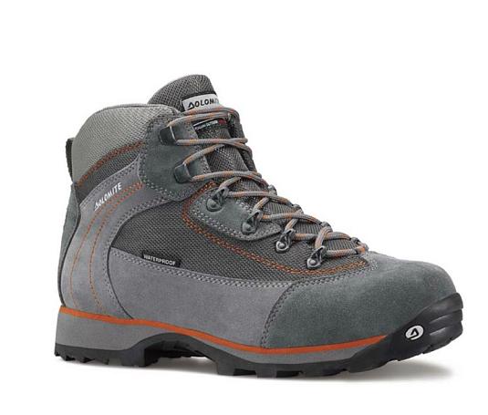Купить Ботинки для хайкинга (высокие) Dolomite 2017-18 Gardena Wp Gunmetal/Turmeric Треккинговая обувь 1188295