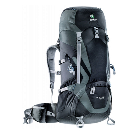 Рюкзак Deuter 2017-18 ACT Lite 40 + 10 black-granite