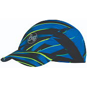 Кепка Buff Pro Run Cap Patterned R-Focus Blue