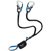 Веревка (Усы самостраховки) Salewa 2018-19 SET VIA FERRATA ERGO TEX SILVER/ROYAL BLUE