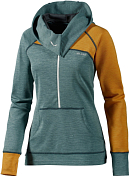 Жакет для активного отдыха Salewa Climbing FOXY LADY PL W HOODIE willow green/7370/0100