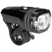 Фонарь переднийФары и фонари<br>Велосипедный фонарь&amp;nbsp;<br> <br> - индикатор низкого заряда батареи<br> - водонепроницаем<br> - вес 52 гр<br> - зарядка от usb<br> - легко крепится без инструментов, для диаметра 22-32 мм<br> - 135 Lumen<br> - максимальное время работы - от 4 до 30 часов в зависимости от режима<br> - дальность света - 105 м<br> - несколько режимов работы<br> <br> <br>