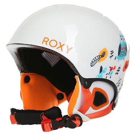 Купить Зимний Шлем ROXY 2016-17 MISTY GIRL PCK G HLMT WBB5 LITTLE OWL_BRIGHT WHITE Шлемы для горных лыж/сноубордов 1309388