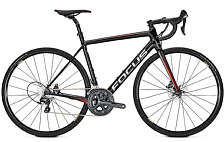 Велосипед FOCUS IZALCO RACE DISC ULTEGRA 2018 black/red/white