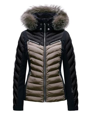 Купить Куртка горнолыжная TONI SAILER 2017-18 EDIE splendid fur brown Одежда 1364962