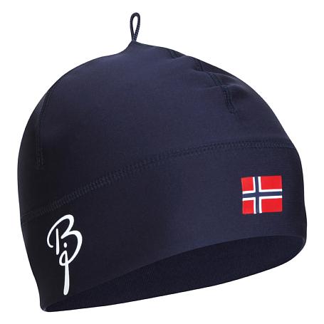 Купить Шапка Bjorn Daehlie Hat POLYKNIT Flag Evening Blue (Т.Синий) Головные уборы, шарфы 1103620