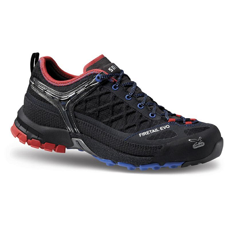 Треккинговые кроссовки Salewa Tech Approach WS FIRETAIL EVO Black/Poppy Red