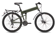 Велосипед MONTAGUE Paratrooper 24 Speed 26  with RackStand 2017 Защитный матовый