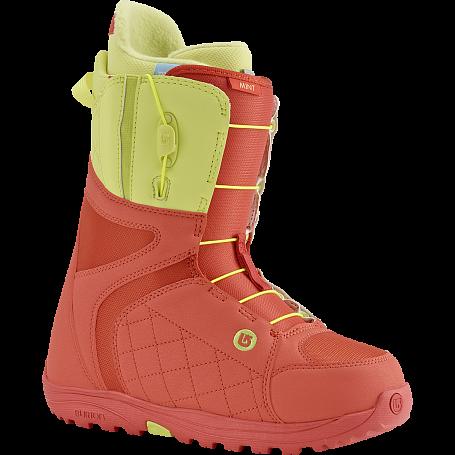 Купить Ботинки для сноуборда BURTON 2015-16 MINT CORAL/YELLOW 1209450