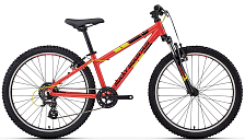 Велосипед ROCKY MOUNTAIN Edge 24 2018 orange/red