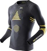 Футболка X-bionic 2016-17 Ski Touring_evo Man UW Shirt LG SL V-neck B317 / Черный