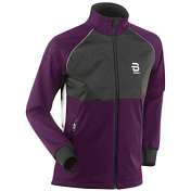 Куртка беговая Bjorn Daehlie 2017-18 Jacket Divide Wmn Potent Purple