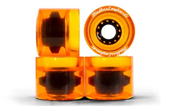Купить Колеса (4 штуки) для лонгборда Mindless 2017 Outlaw Wheel Orange, Аксессуары лонгбордов/скейтбордов, 1336786
