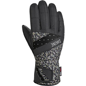 Перчатки горныеПерчатки, варежки<br>Перчатки Dakine Sienna Glove - на каждый день, в любом месте. Комфорт, тепло, функциональность, доступность. Все это женская серия перчаток Dakine Sienna.<br>Характеристики:<br>- Утеплитель: High Loft Synthetic &amp;#40;80 гр.&amp;#41;.Синтетический утеплитель с отичным сочетанием уровня комфорта, тепла и цены. Не намокает во влажных условиях, удерживая воздух между волокнами, благодаря которому сохраняется тепло. Не занимает большой объем<br>- Верхний слой/Ладонь: Нейлон DWR/Rubbertec™.Полиэстровые волокна с нанесенной на них полимерной пропиткой, имеющей высокий коэффициент сцепления на любой поверхности. Водонепроницаемый и износостойкий<br>- Подкладка: Флис 230 гр. Ткань с начесом &amp;#40;шерсть&amp;#41; 400 гр.<br>- Удобная фиксация на липучке в области запястья<br><br>Пол: Женский<br>Возраст: Взрослый<br>Вид: перчатки