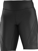 Брюки Беговые Salomon 2016 Intensity Short Tight W Black