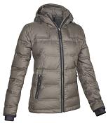 Куртка для активного отдыхаОдежда для активного отдыха<br>Мягкий пуховик с дополнительной матовой обработкой. Имеются все необходимые рабочие характеристики и детали.<br>Активность: Каникулы в горах, Горный стиль &amp;#40;альпинизм как стиль жизни&amp;#41;<br>Защитные функции &amp;#40;свойства&amp;#41;: водоотталкивающие свойства, ветрозащитный, утепление &amp;#40;изоляция&amp;#41;<br><br>Основныехарак теристики модели:<br>- эффектные детали<br>- бесшовная конструкция плечевой зоны<br>- Мягкий, регулируемый, утепленный пухом капюшон.<br>- Мягкий изнутри воротник для дополнительного комфорта.<br>- анатомический крой рукавов<br>- вшитые эластичные теплые манжеты для дополнительной защиты рук<br>- Практичная удлиненная влагонепроницаемая центральная молния с<br>двухсторонним ходом.<br>- эластичная система регулировки одной рукой<br>- 2 наружных кармана на молнии<br>- внутренний карман на молнии<br>- высококачественная внутренняя отделка<br><br>Основной материал: Dwp Pl Microripstop 55 / 100%PL<br>Подкладка : PaTaffeta Wr 65<br>Отделка : Водоотталкивающее покрытие DWR &amp;#40;стойкое водоотталкивающее средство&amp;#41;,<br>Вощеный &amp;#40;покрытый воском&amp;#41;, непромокаемый<br>Утеплитель: белый утиный пух 60/40, коэффициент сжатия 400 cuin 140g<br>Длина спины: 70cm &amp;#40;44/38&amp;#41;<br>Крой: стандартный крой<br>Размеры: 38/32 - 56/50<br>Вес: 730g<br><br><br>Пол: Женский<br>Возраст: Взрослый<br>Вид: куртка
