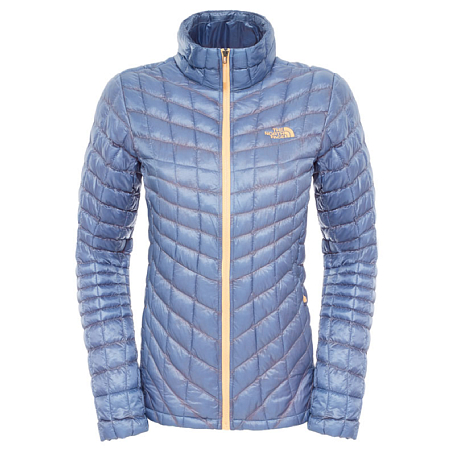 Куртка туристическая THE NORTH FACE 2015-16 W THERMOBALL JKT  COOL BLUE COOL/BLUE / синий