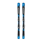 Горные Лыжи с Креплениями Blizzard 2015-16 Power S7 + Power12 Tcx Black-blue