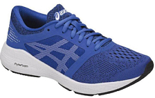 Кроссовки детские Asics 2018 RoadHawk FF GS Blue/white/Black