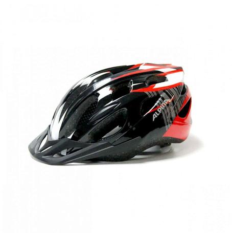 Купить Летний шлем Alpina SMU MTB 14 black-red-white Шлемы велосипедные 1180257