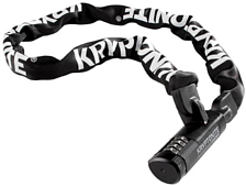 Замок велосипедный Kryptonite 2020 Keeper 712 Combination Integrated Chain (7mm x 120cm)