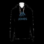 Толстовка сноубордическая Jones 2015-16 BASIC HOODY BLACK IRIS
