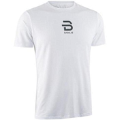 Футболка беговая Bjorn Daehlie 2020 T-Shirt Focus Jr White