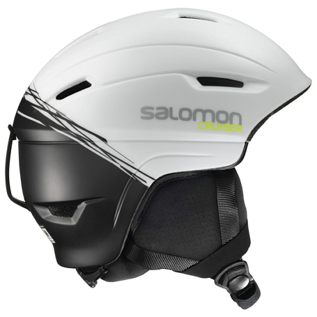 Купить Зимний Шлем SALOMON 2016-17 HELMET CRUISER 4D White/BLACK Шлемы для горных лыж/сноубордов 1287384